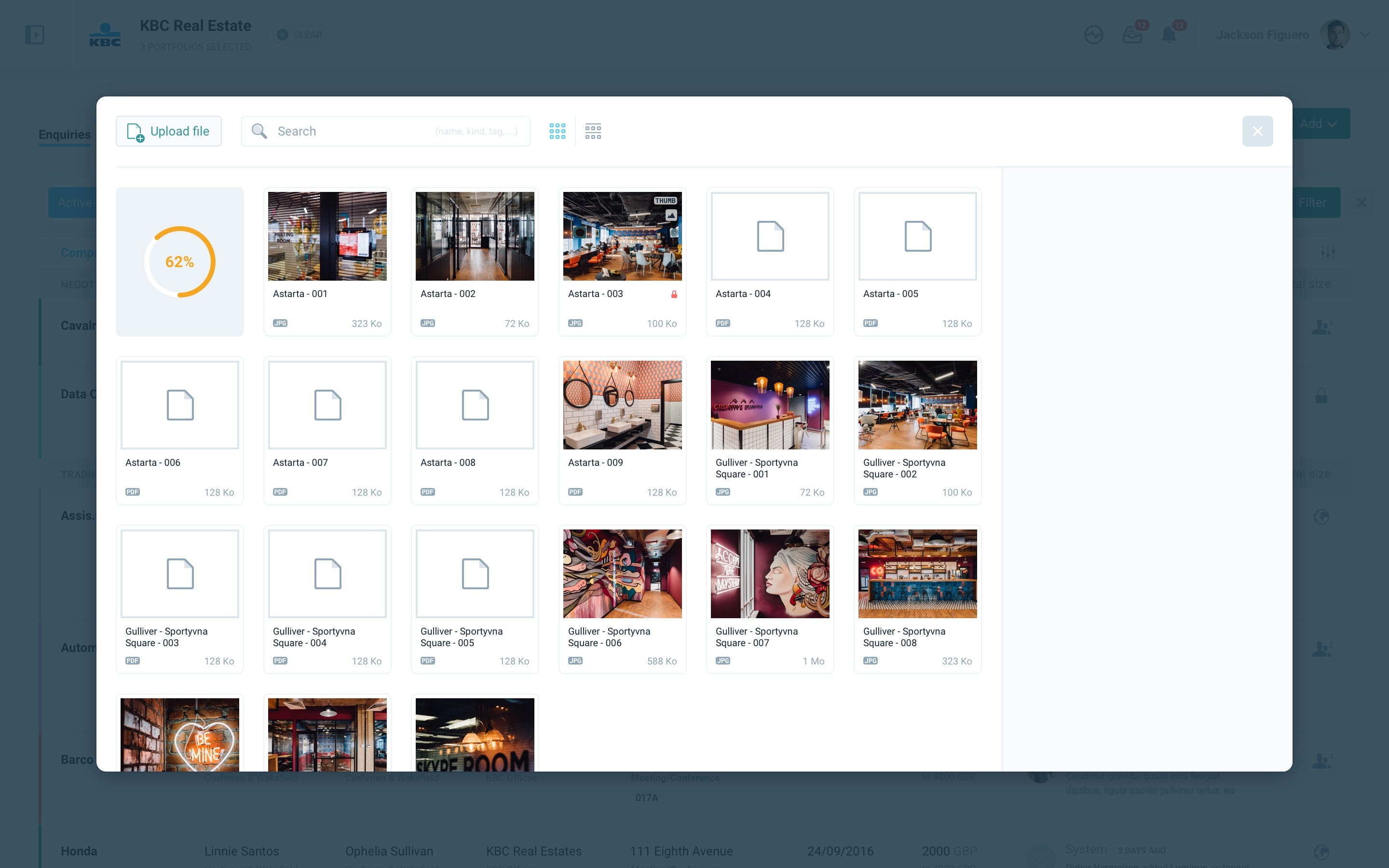 rialto – file manager — upload — 2@2x